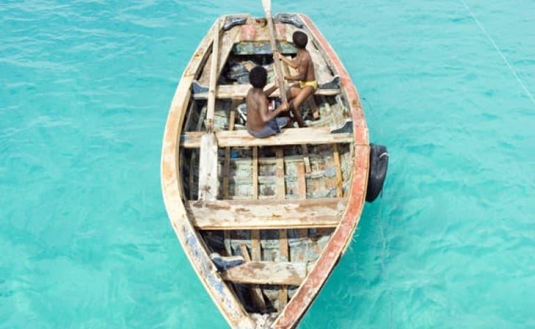 Pêche au gros sur l'ile de Maio
