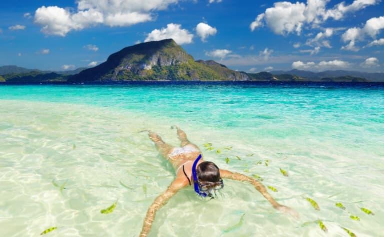Sortie snorkeling en mer