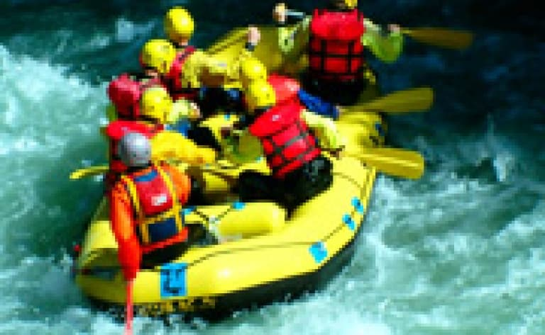 Rafting sur la rivière Elo