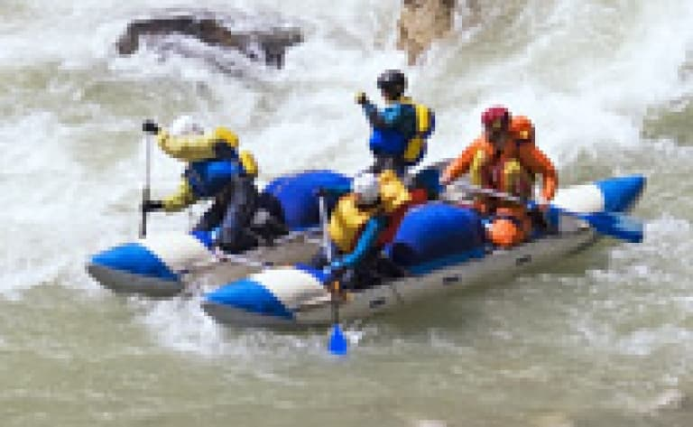Rafting sur la rivière Kelani