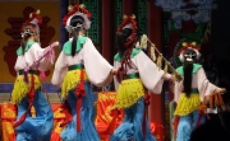 Opéra de Pékin ou spectacle de Kung-fu