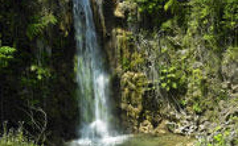 Les chutes de la rivière Dunn