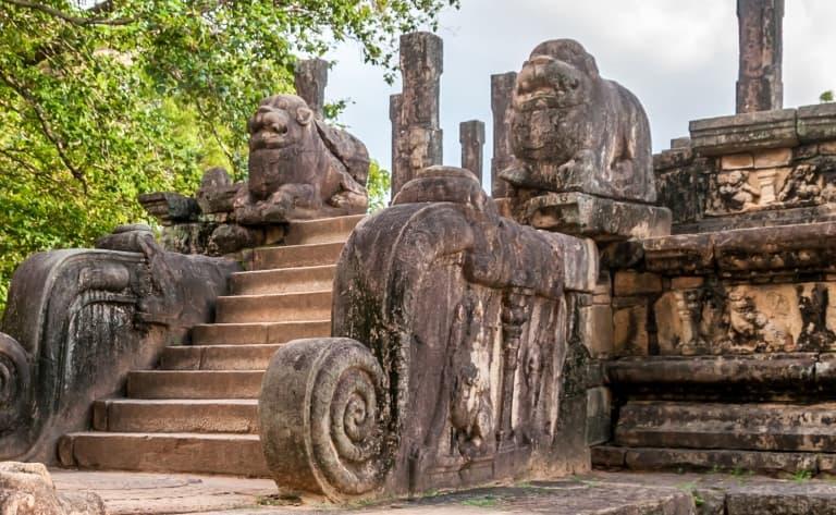 Visite de Polonnaruwa en vélo