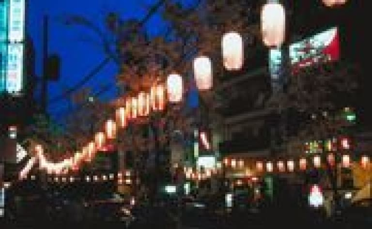 Visit Tokyo by Night and have dinner in a Japanese restaurant