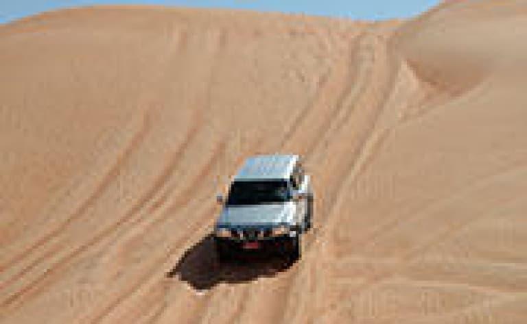 Le désert des Wahiba Sands en 4x4