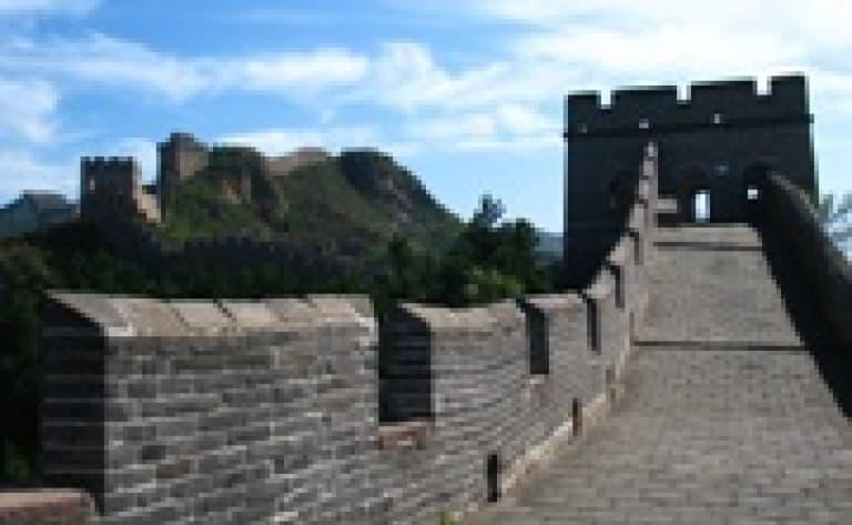 Luge sur la muraille de Chine (à Mutyanyu)