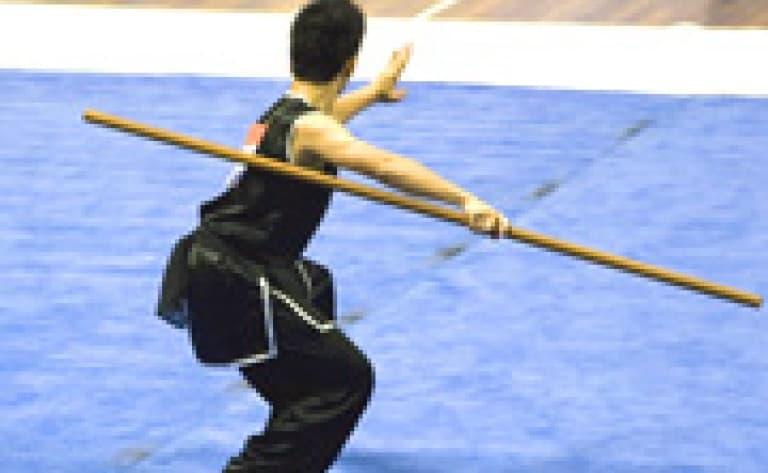 Visite d'une école de Kung Fu (Pékin)