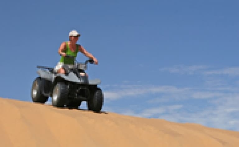 Une excursion en quad - Namibie