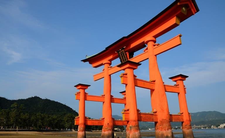 Le Torii flottant de Miyajima