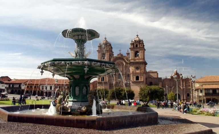 Départ du Pérou