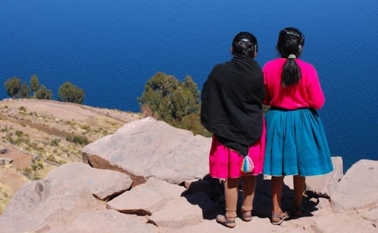 A la rencontre des habitants du Lac Titicaca