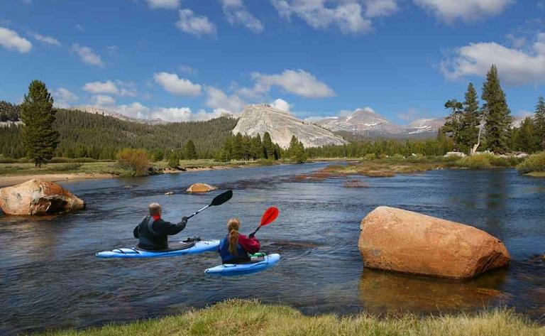 Journée de Kayak près des Geysers du Yellowstone