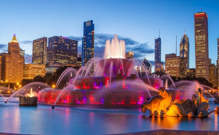 Shooting photos à Chicago