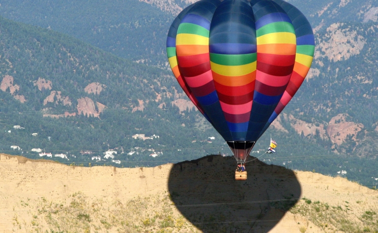Survol en Montgolfière de Colorado Springs