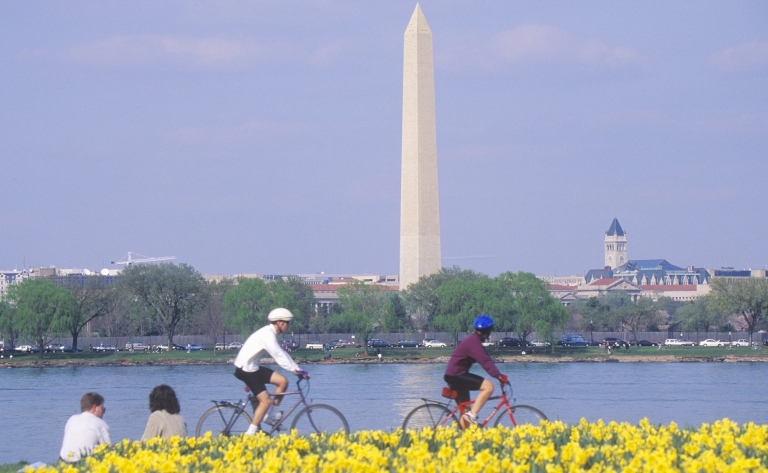 Visite de Washington en vélo