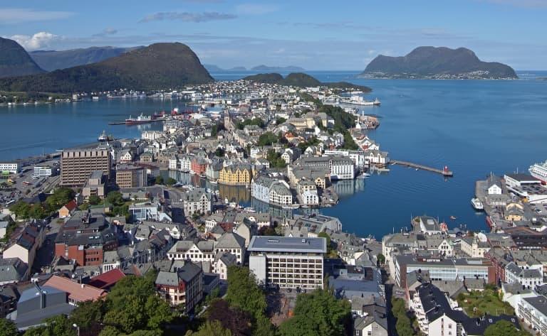 Ces jolies villes de la Mer de Norvège