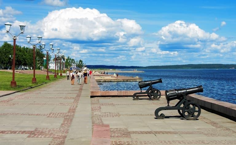 Petrozavodsk, la capitale de la Carélie !