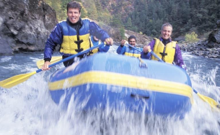 Rafting et kayak sur les rivières de l'Eidfjord