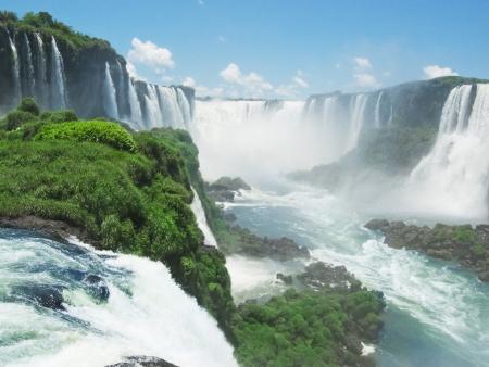 Exploration des chutes d'Iguazu côté brésilien