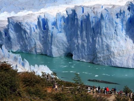 Au plus près du glacier Perito Moreno