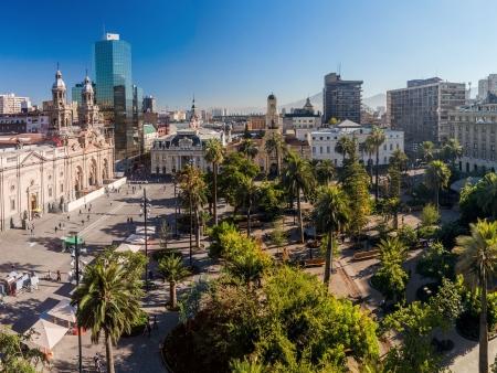 La capitale chilienne