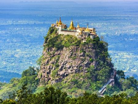 Le sanctuaire sacré du Mont Popa