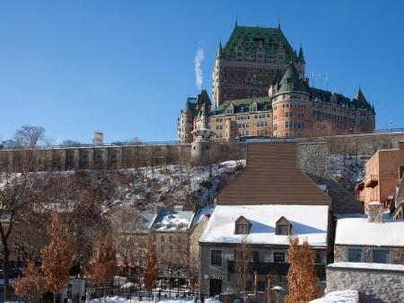 Québec sous la neige !