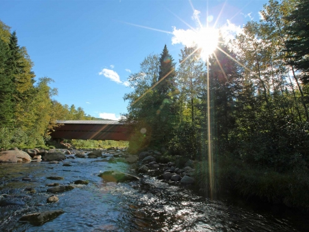 Route vers la Région de Charlevoix