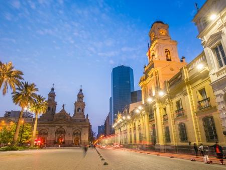 Arrivée à Santiago, la capitale chilienne