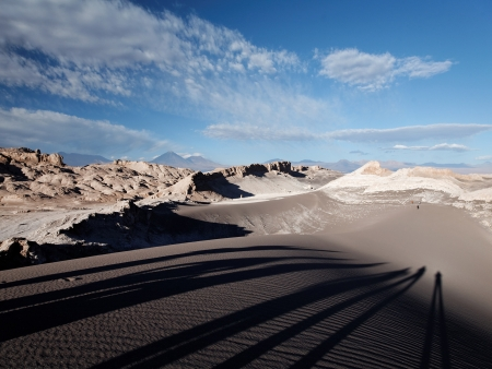 Le Salar d'Atacama et la Vallée de la Luna