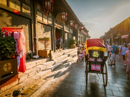 Pingyao, authentique ville traditionnelle chinoise