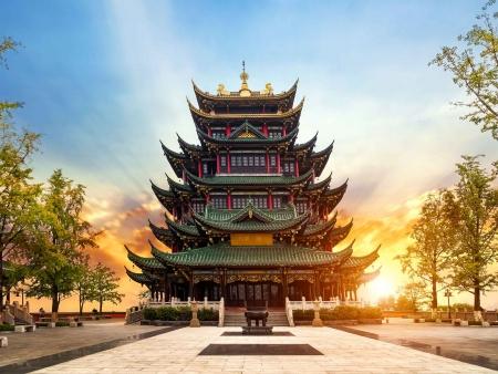 Charme authentique de la vieille ville de Chongqing