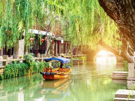 Au bord de l'eau à Suzhou…