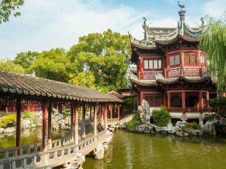 Jardin Yu et balade sur le Bund
