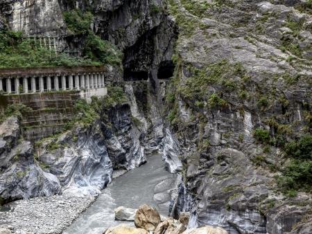 Gorges de Taroko, entre falaises, canyons et pagodes