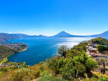 Atitlan, plus beau lac du monde