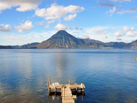 Rencontre sur les rives du Lac Atitlan