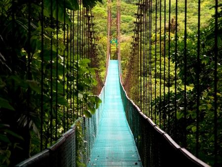 Arenal et ses ponts suspendus