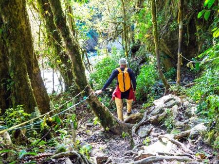Randonnée dans la Parc National du Volcan Tenorio