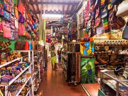 Célèbre marché artisanal de Masaya
