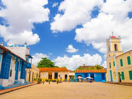 Camaguey, le plus grand ensemble colonial du pays