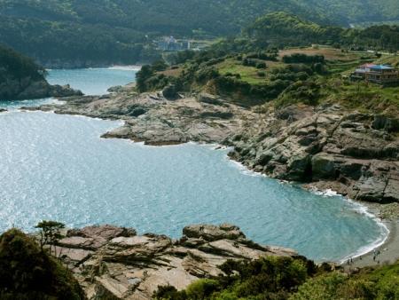 L'île volcanique d'Ulleungdo