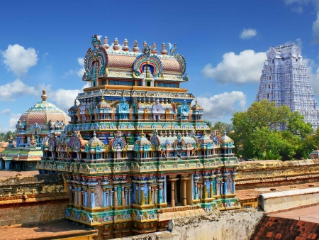 Célèbre temple Tirumalai Nayak