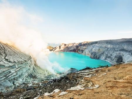 La terre vibrante du Mont Ijen