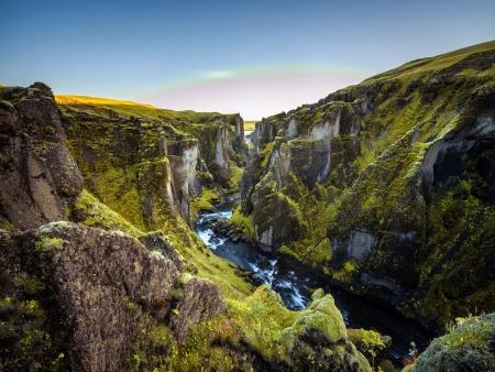 Entre canyons et glaciers
