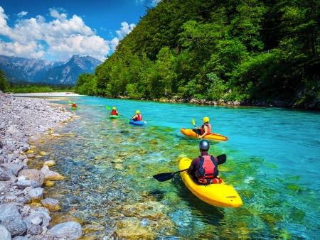 Vallée de la Soca: rafting et randonnée