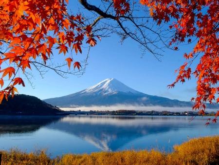Aux pieds du Mont Fuji !