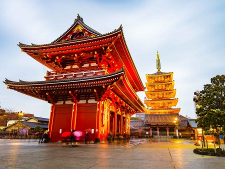 La surprenante capitale nippone