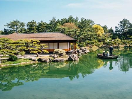 Le jardin enchanteur de Takamatsu