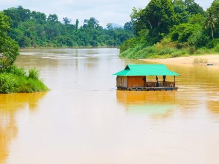 Jungle, rivières et cascades